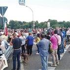 L'inizio della manifestazione (foto di A. Gentile)