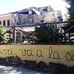 la scuola di Amatrice crollata, doveva essere antisismica