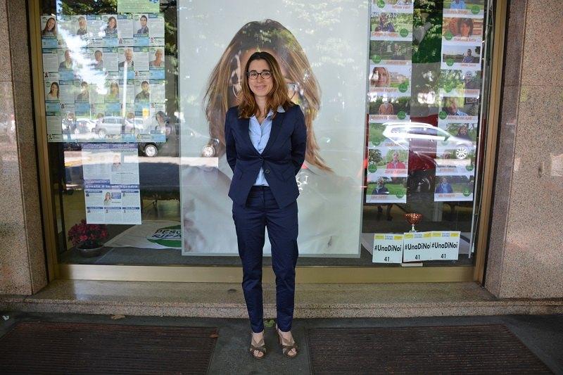 Caterina Molinari, sindaco di Peschiera Borromeo