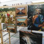 Alcuni quadri di Franco Paradiso