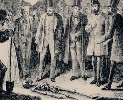 Il ritrovamento del primo cadavere nella cantina di via Bagnera, dove Antonio Boggia sotterrava le vittime