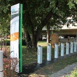 La nuova stazione del bikesharing di via Martiri di Cefalonia