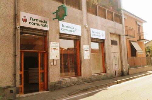 La farmacia comunale di Pantigliate