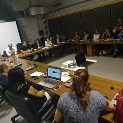 Una riunione del Comitato