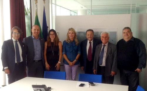 La foto dell'incontro in regione Lombardia