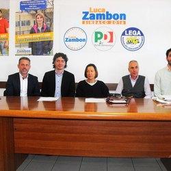 Massimo Chiodo, Luca Zambon, Claudia Borsani, Claudio Viganò e Lorenzo chiapella