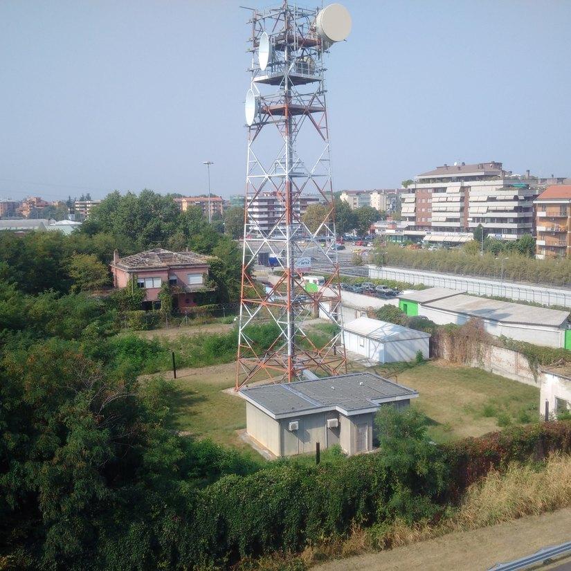 L'antenna dell'Aeronautica