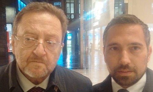 Riccardo De Corato e Franco Lucente