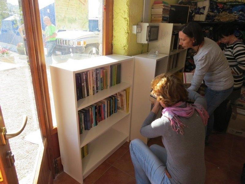 Le librerie e i 130 libri donati dal Comitato per Linate