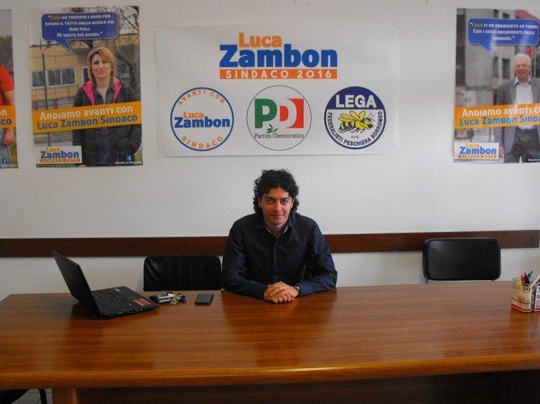 Luca Zambon, ex Sindaco e attuale Consigliere Comunale di Peschiera Borromeo