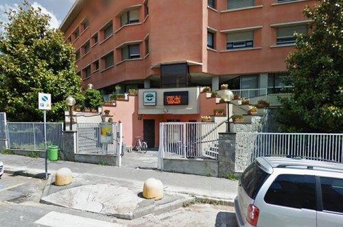 La fondazione Castellini, sede del poliambulatorio