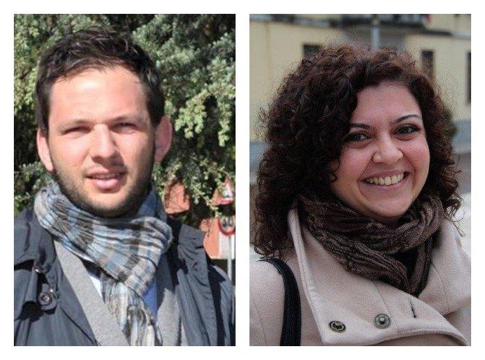 Marco Segala e Alessandra Magro