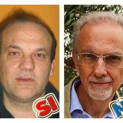 A sinistra Moreno Mazzola a destra Tiziano Cornegliani