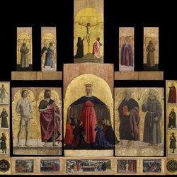 Il polittico di Piero della Francesca, la pala centrale sarà esposta a Palazzo Marino