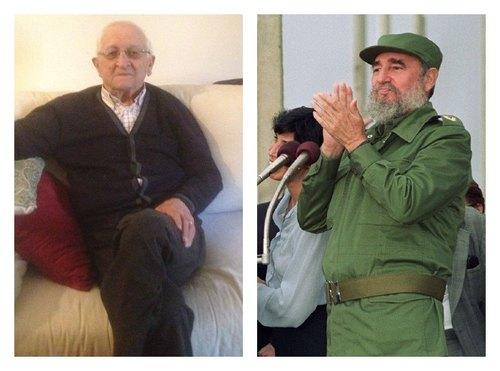 Antonio Bruschi e Fidel Castro