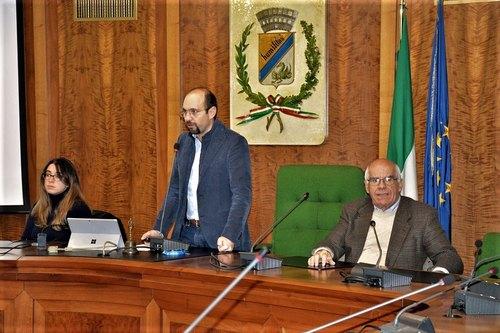 Da sinistra: Caterina Molinari, Marco Righini, Franco Ornaro
