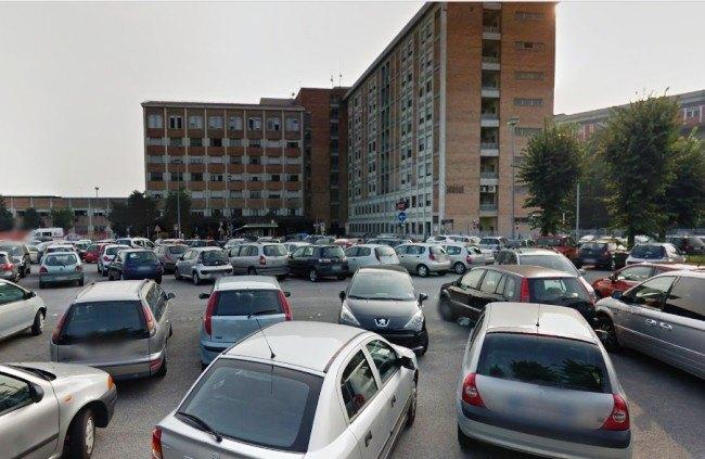 L'ospedale Predabissi e il relativo parcheggio