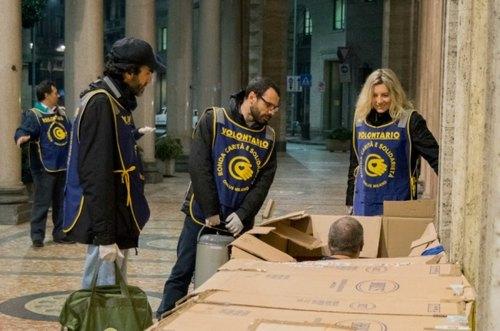 I volontari di Ronda Carità e Solidarietà Onlus