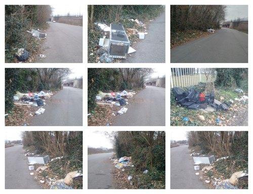 I rifiuti sulla Paullese