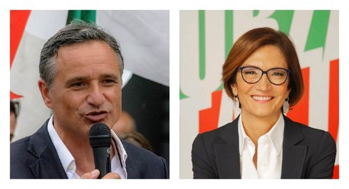 Luca Squeri e Mariastella Gelmini