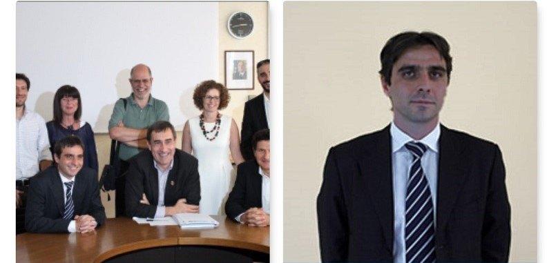 A destra l'assessore all'urbanistica e vicesindaco Massimiliano Bella