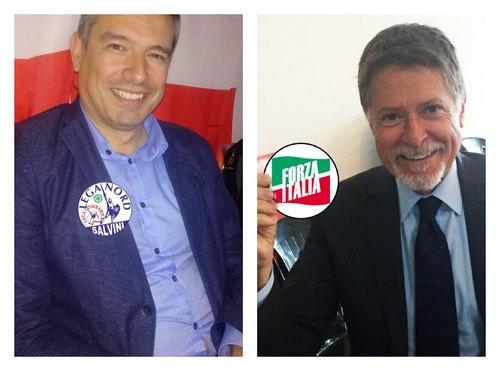 Leonrado Grosso e Mario Orfei