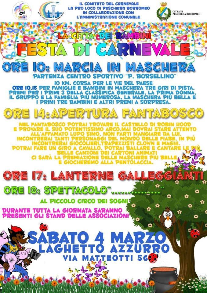 Locandina Carnevale 2017