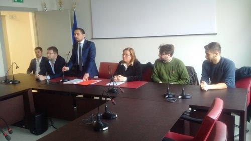 La conferenza stampa di Franco Lucente