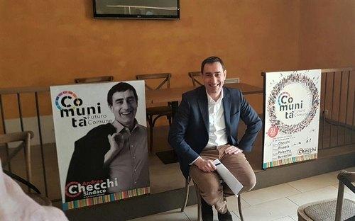 Il sindaco Andrea Checchi