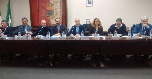 I relatori del Consiglio Comunale Aperto