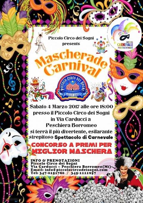 Locandina Mascherade Carnival