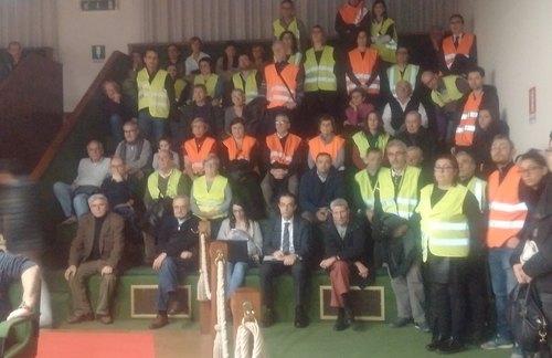La protesta dei cittadini di Bellaria in Consiglio Comunale