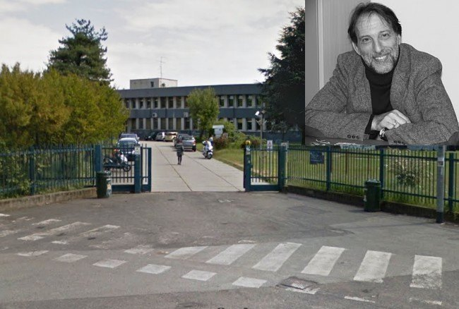 L'ingresso dell'Istituto Piero Della Francesca
