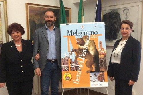 Da sx: Raffaela Caputo, Vito Bellomo, Caterina Ippolito