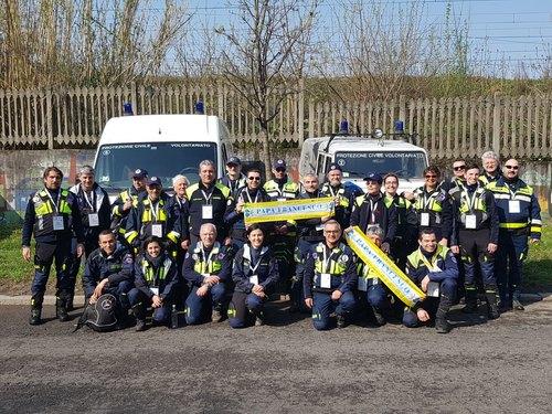 L'Associazione dei Volontari Protezione Civile di Peschiera Borormeo