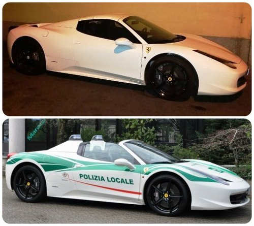 La Ferrari prima e dopo il