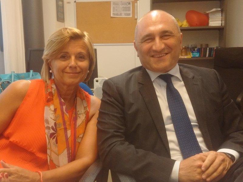 Lidia Rozzoni e Fabio Pricca
