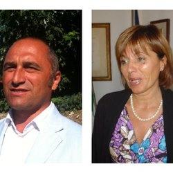 Fabio Pricca e Lidia Rozzoni