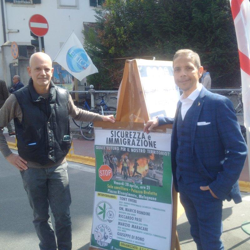 Marco Rondini e Giuseppe Di Bono