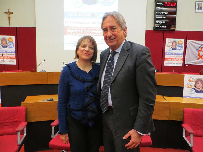 Gina Falbo e Tullio Mastrangelo