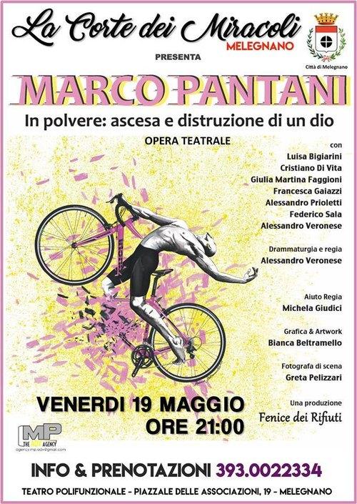 Marco Pantani - locandina teatrale