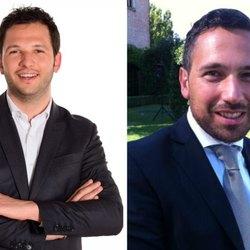 Da sx: Marco Segala e Franco Lucente