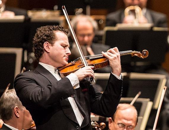 Il violinista Nikolaj Znaider