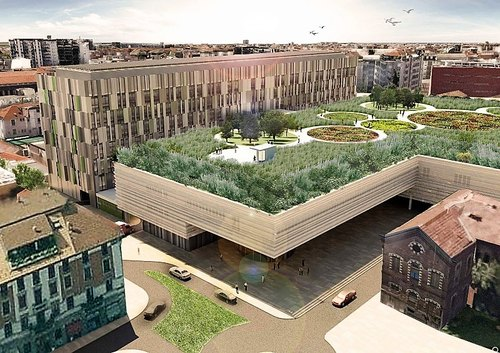 Il progetto del nuovo Policlinico di Milano (Foto Stefano Boeri Architetti)