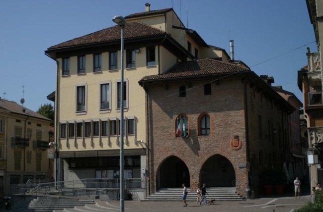 Il Municipio di Melegnano