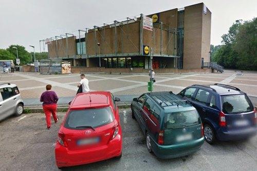 Il supermercato assaltato a scopo di rapina