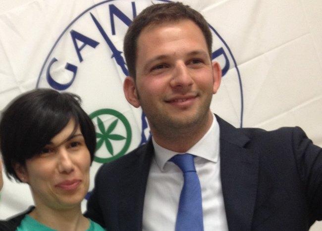 Chiara Caponetto e Marco Segala