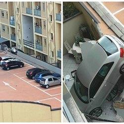 Le immagini dello spettacolare incidente