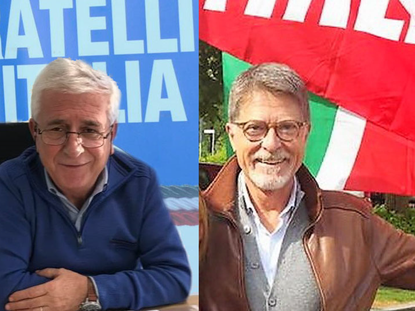Da sinistra Gerardo Carchia e  Mario Orfei