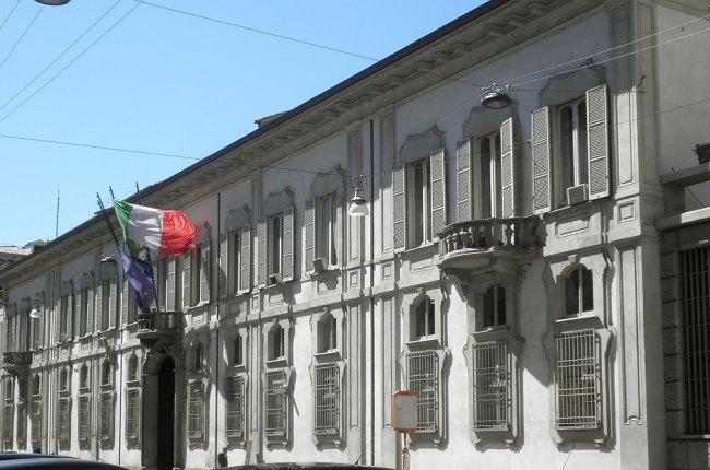 Palazzo Isimbardi, sede della Città Metropolitana